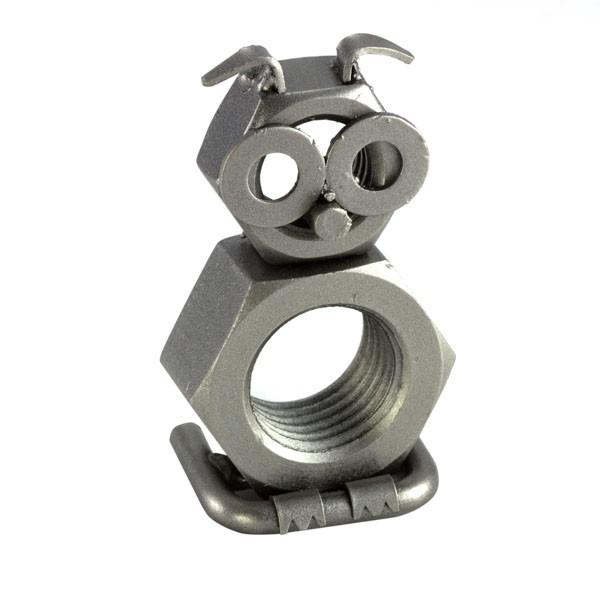 Owl metal art figurine