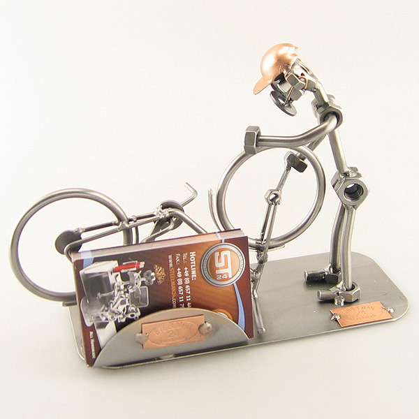 Unique gifts bicycle mechanic business card holder colourmoves