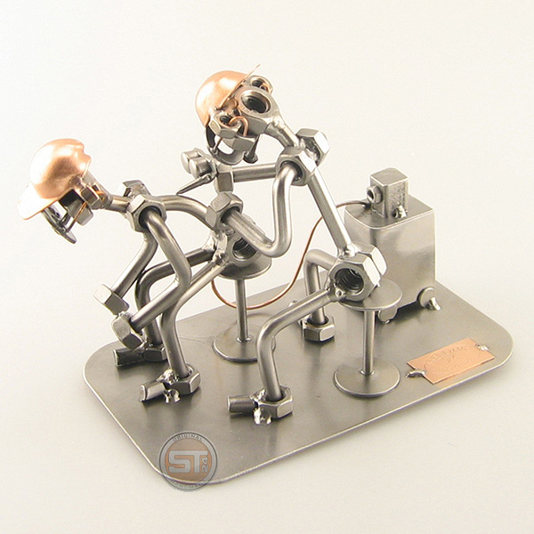 Metal art tattoo artist gift steelman for Gifts for tattoo artist