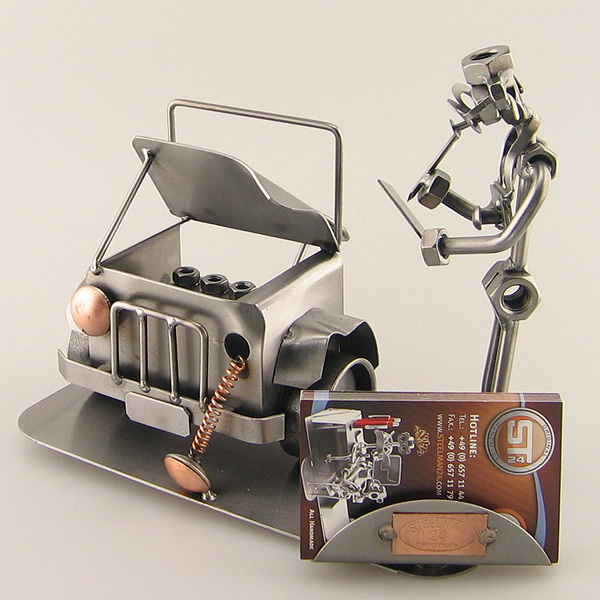 car business card holder	  Auto Body Shop Business Card Holders - Steelman