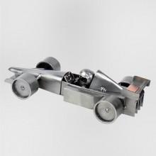 Formula One metal art figurine