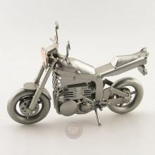 Streetfigher Motorcycle metal art figurine