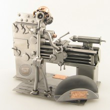 Lathe Operator Business Card Holder