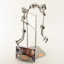 Volleyball Players Business Card Holder
