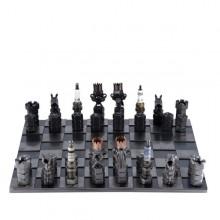 Steel Chess Set metal art figurine