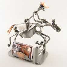 Jumping Horse Business Card Holder