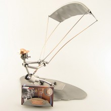 Kitesurfing Business Card Holder