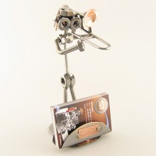 Trombonist Business Card Holder