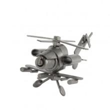 Helicopter Mini metal art figurine