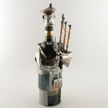 Bagpipe Wine Bottle Holder