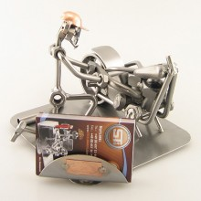 Motorcycle Mechanic Business Card Holder
