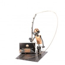 Fly Fishing Business Card Holder